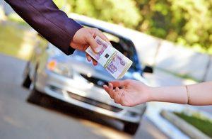 Продажа авто за границей
